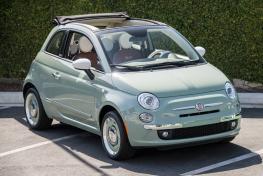 Fiat 500 Cabrio or Similar
