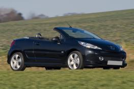 Peugeot 207 CC Cabrio or Similar
